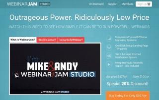 Webinar Jam Studio