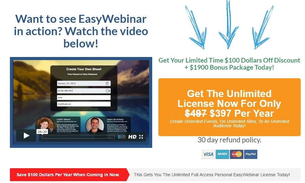 EasyWebinar Software