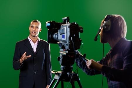 וובינר וידאו מצולם באולפן