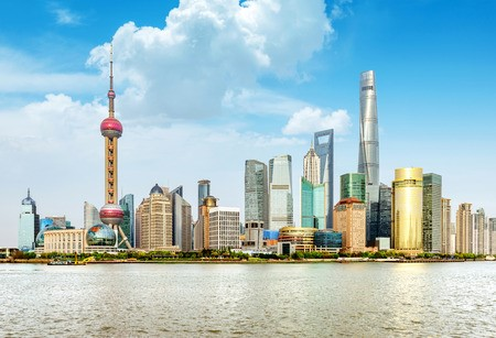 אזור מסחרי שנחאי סין