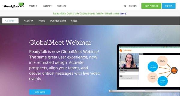 GlobalMeet Webinar & Webcast