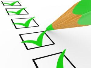 רשימת תיוג check list
